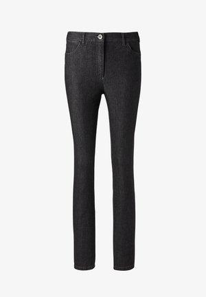 ANNA - Slim fit jeans - schwarz