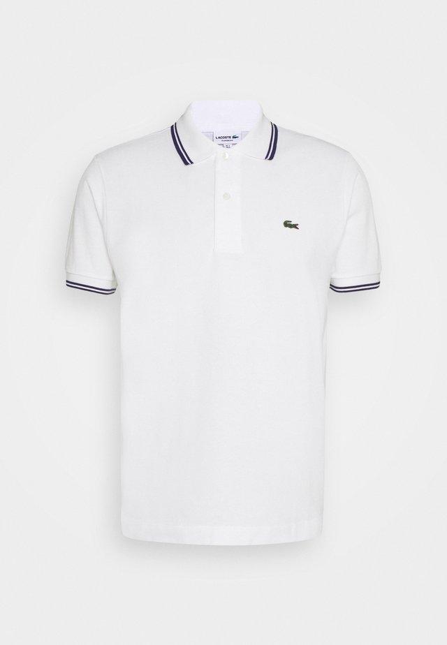 Polo - white/navy blue