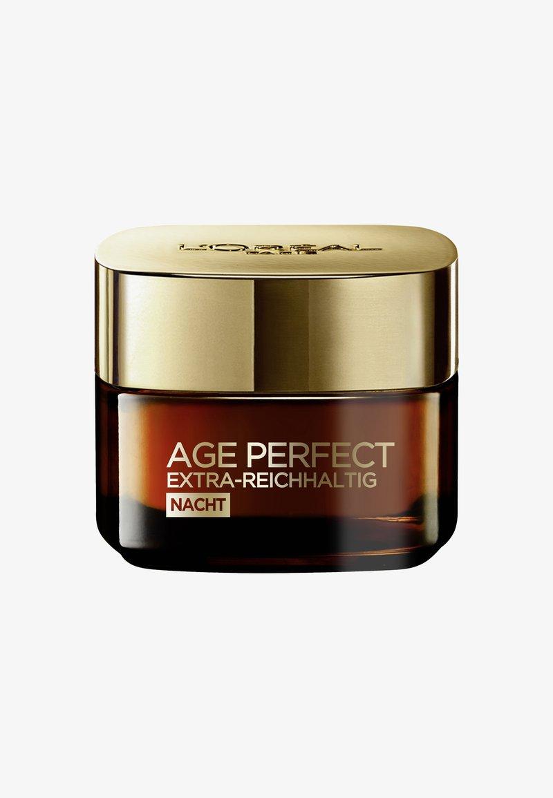 L'Oréal Paris Skin - AGE PERFECT EXTRA-RICH MANUKA NIGHT CREAM 50ML - Night care - -