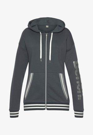 Zip-up sweatshirt - stein