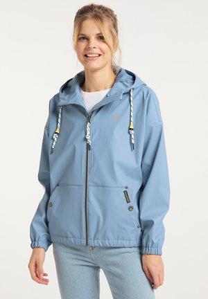 Vodotěsná bunda - denimblau