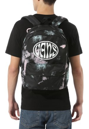 OLD SKOOL  - Rucksack - black tie dye