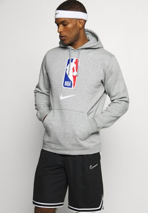 NBA TEAM HOODY - Bluza z kapturem - dark grey heather