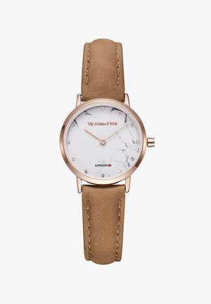 MARBLE DIA ULTRA THIN MINIMALIST - Horloge - braun