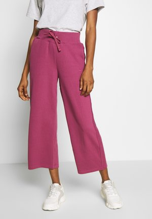 PANT - Tracksuit bottoms - mulberry rose