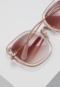 Coach - Solglasögon - shiny rose gold-coloured/pink - 4