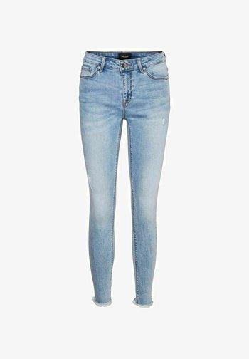 Jeans Skinny - light blue denim