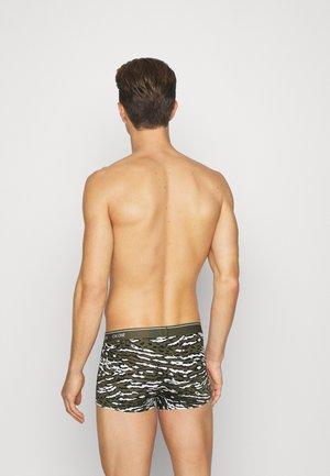 LOW RISE TRUNK - Pants - khaki