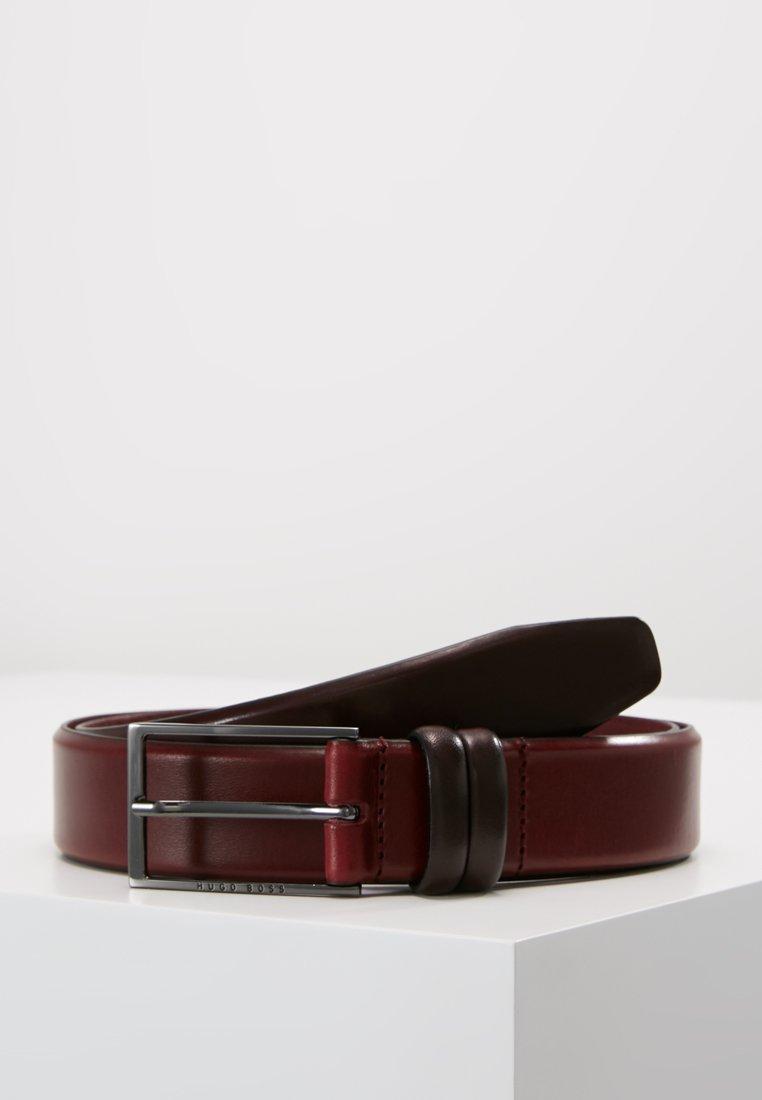 BOSS - CARMELLO - Belt business - dark red