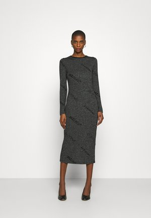 ANGIE - Jumper dress - gris vigore