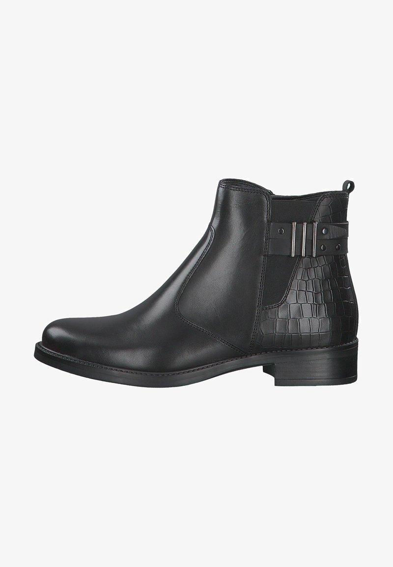 Tamaris - STIEFELETTE - Ankle boots - black