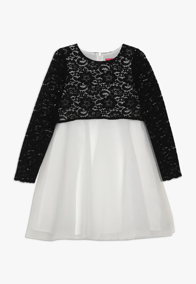 ELISA - Cocktail dress / Party dress - blanc/noir