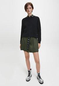 Calvin Klein Jeans - RELAXED  - Jumper - ck black - 1