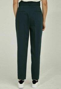 NAF NAF - WORK  - Trousers - green - 2