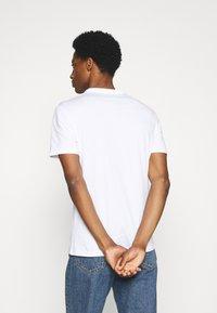 Pier One - 7 PACK - T-shirt basique - black/white/olive - 2