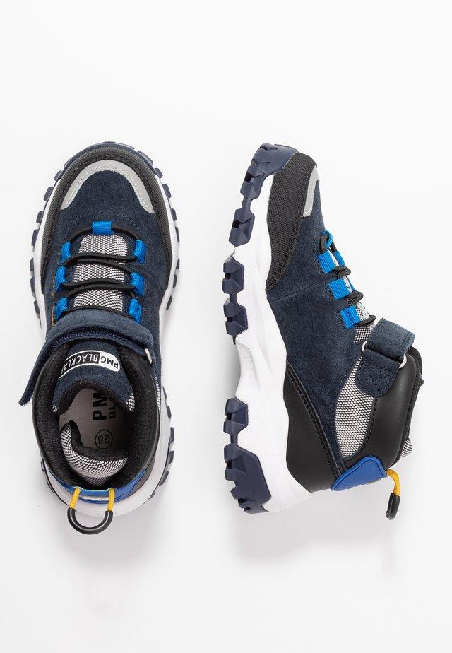 Sneakers hoog - navy/nero