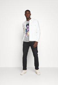 edc by Esprit - Print T-shirt - mottled grey - 1