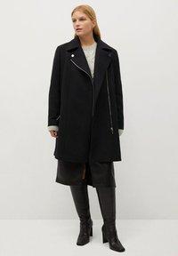 Violeta by Mango - ELECTRIC - Winter coat - zwart - 1