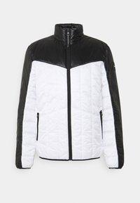 Calvin Klein - MULTI QUILT WADDED JACKET - Light jacket - white - 0