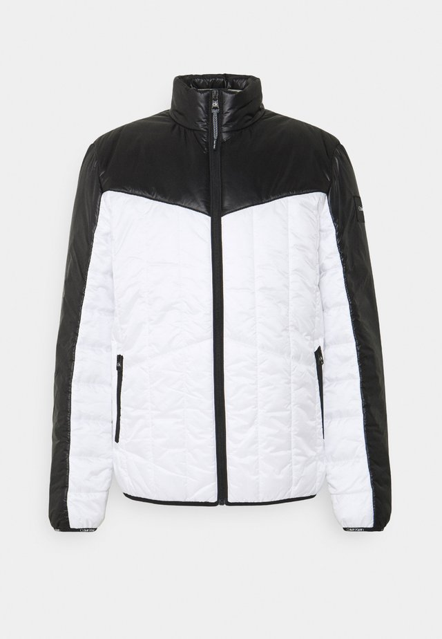MULTI QUILT WADDED JACKET - Light jacket - white