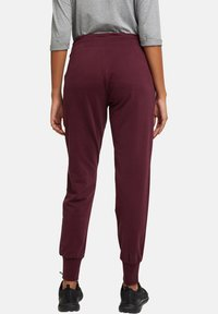 Esprit Sports - Tracksuit bottoms - bordeaux red - 4