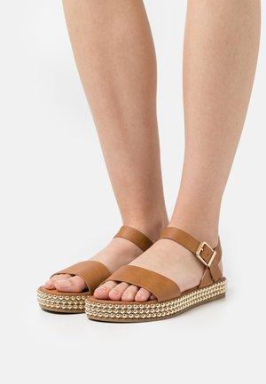 FAITH BALLBEARING  - Sandals - tan