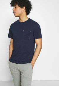 G-Star - CONTRAST MERCERIZED PKT R T S\S - T-shirt basic - sartho blue - 3