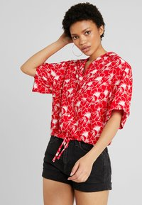 Levi's® - PALOMA SHIRT - Button-down blouse - red - 0