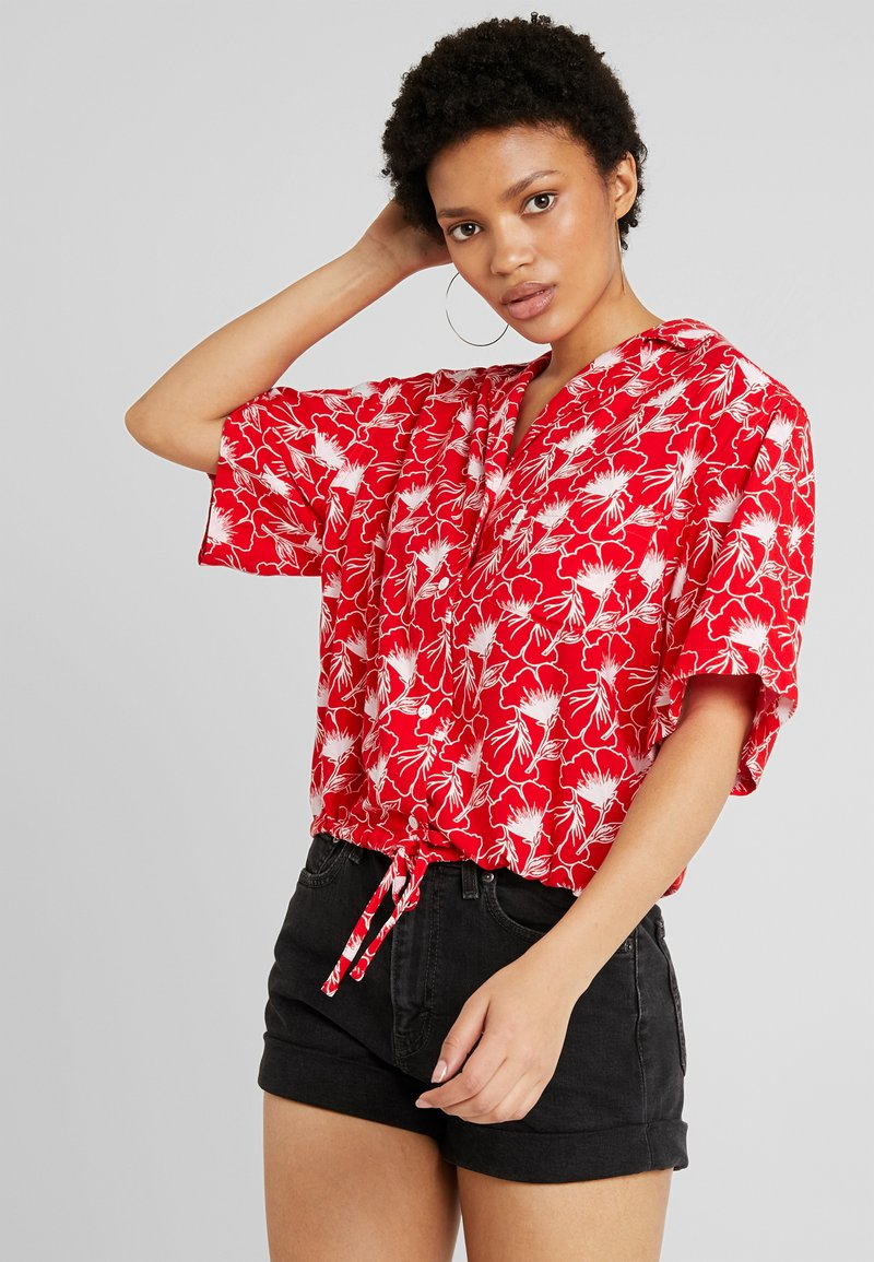 Levi's® - PALOMA SHIRT - Button-down blouse - red