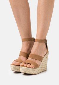 Rubi Shoes by Cotton On - BRADY WEDGE  - Platform sandals - tan - 0