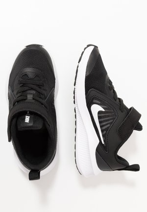 DOWNSHIFTER 10 UNISEX - Neutral running shoes - black/white/anthracite