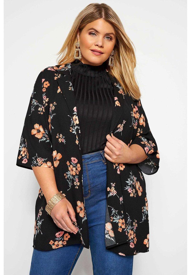 Yours Clothing - Summer jacket - black