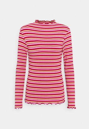 SPARKLE STRIPE TRUTTE - Langærmede T-shirts - red/multi