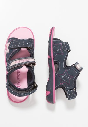 STARRING - Outdoorsandalen - navy/pink