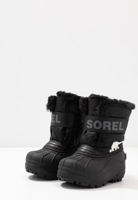 Sorel - CHILDRENS - Snowboots  - black/charcoal - 3