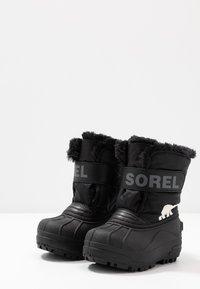 Sorel - CHILDRENS - Winter boots - black/charcoal - 3