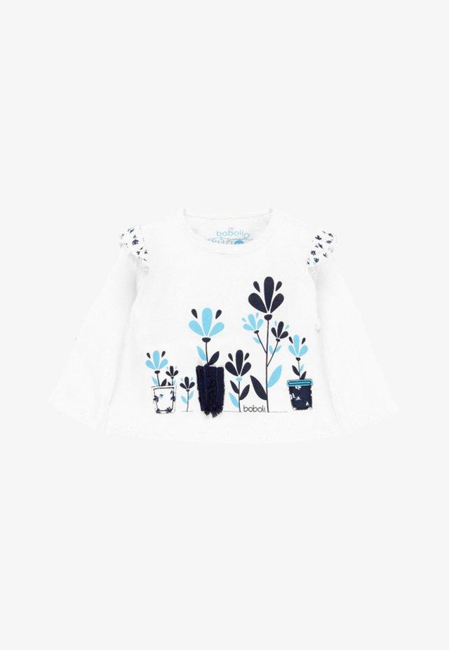 LONG SLEEVE - Pitkähihainen paita - off white