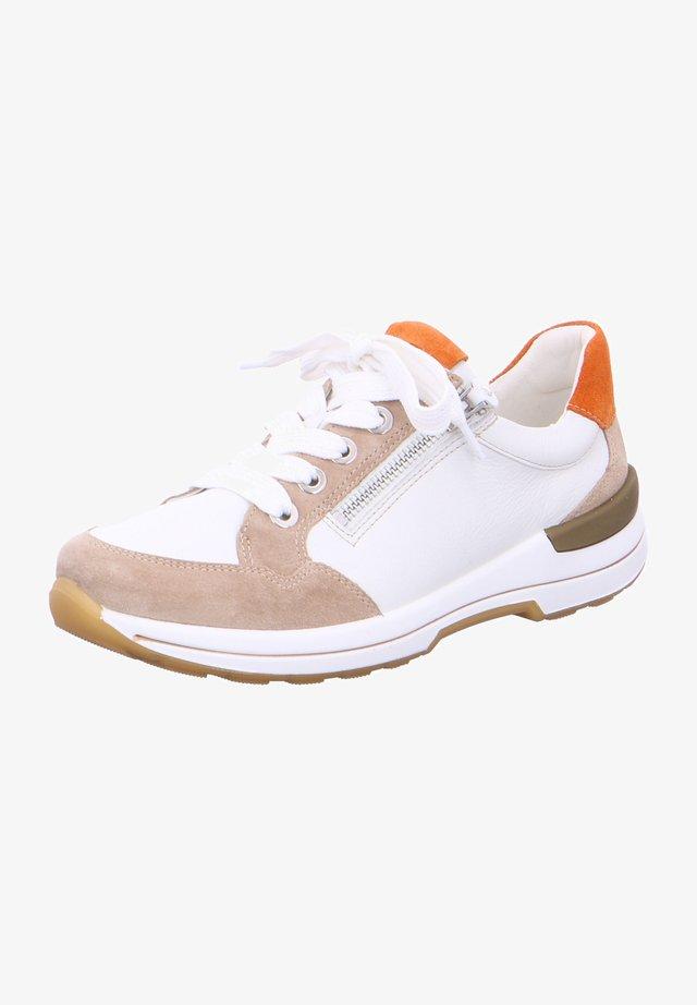 Baskets basses - sand weiß ambra