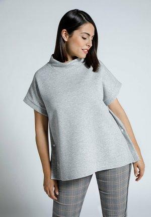 T-shirt basic - hellgrau mélange