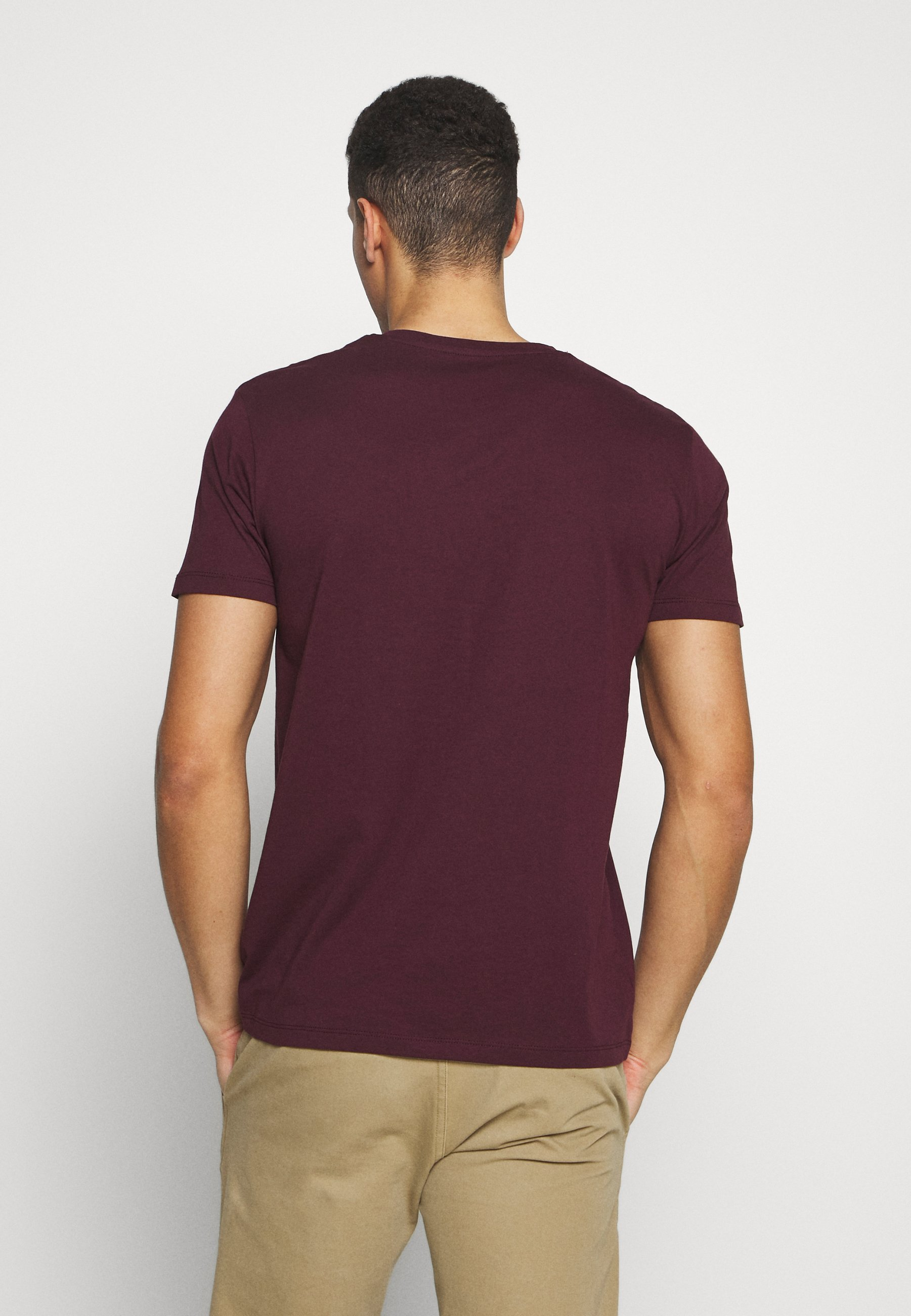 Esprit ICON 2 PACK - Print T-shirt - khaki VyrrJ