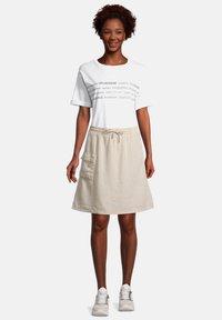 Cartoon - A-line skirt - nature melange - 1