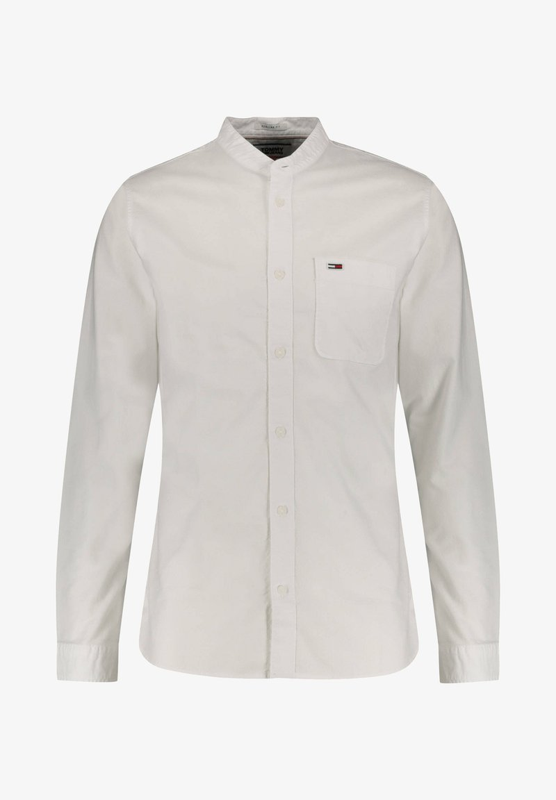 Tommy Jeans - TOMMY JEANS HERREN OXFORDHEMD REGULAR FIT - Shirt - weiss (10)