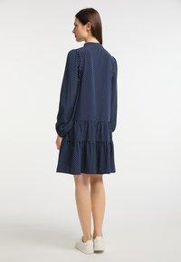 usha - Day dress - marine - 2