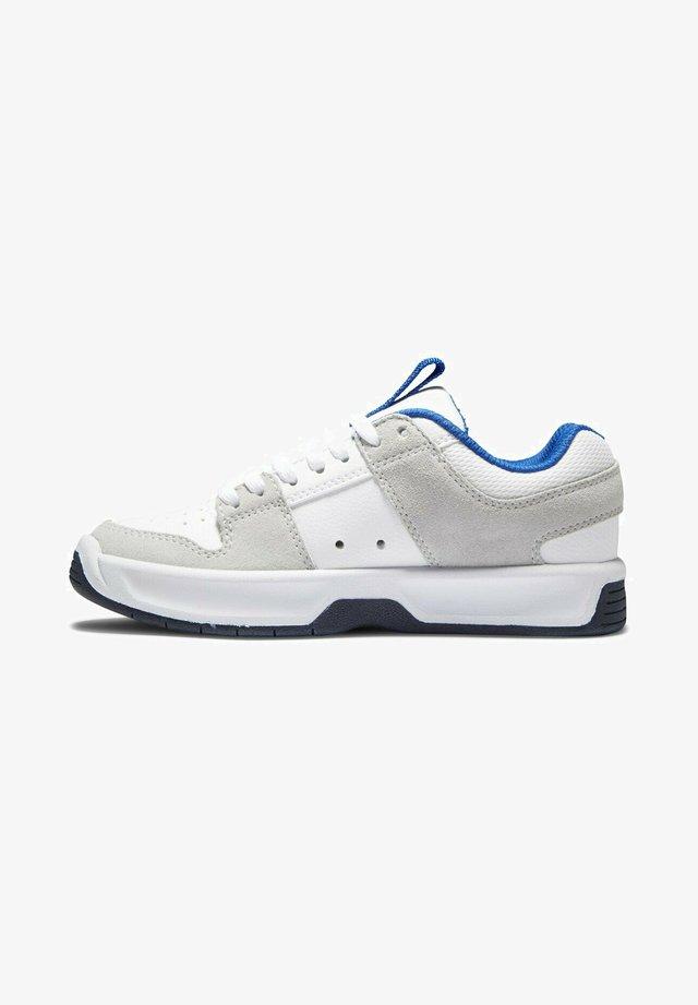 LYNX - Sneakers laag - grey/white/blue