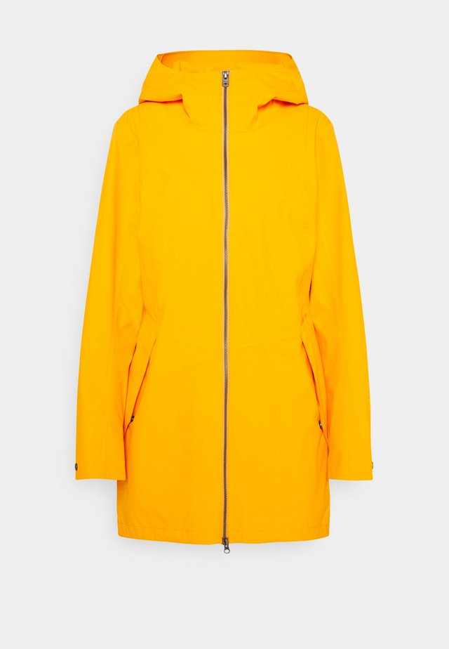 FOLKA - Veste imperméable - saffron yellow