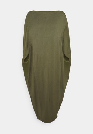 PIPPA DRESS - Jumper dress - dusky green