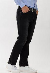 BRAX - Straight leg jeans - black - 2