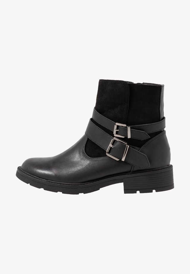 LAIA - Cowboy/biker ankle boot - black