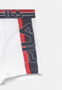 Fila - BOYS 3 PACK - Panties - navy/white - 4