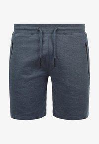 Solid - SWEATSHORTS TARAS - Shorts - blue melange - 3